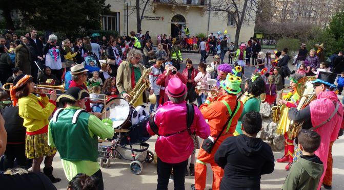 Mars 2018 - Montpellier : Carnaval quartier de Figuerolles