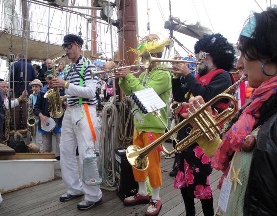 Juillet 2012 - Brest : Fêtes maritimes internationales
