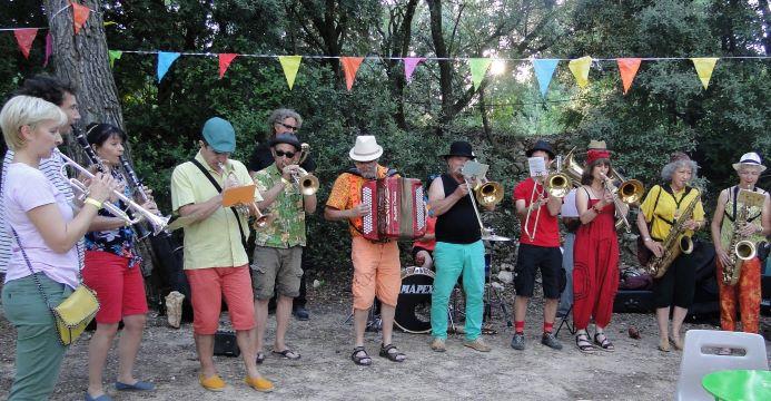 Juillet 2018 - Aumelas : Fête de la Musique