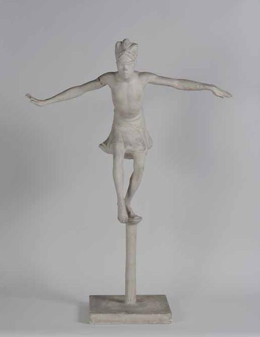"Anna Quinquaud, Danse ""La Papanga"", 1933, plâtre."
