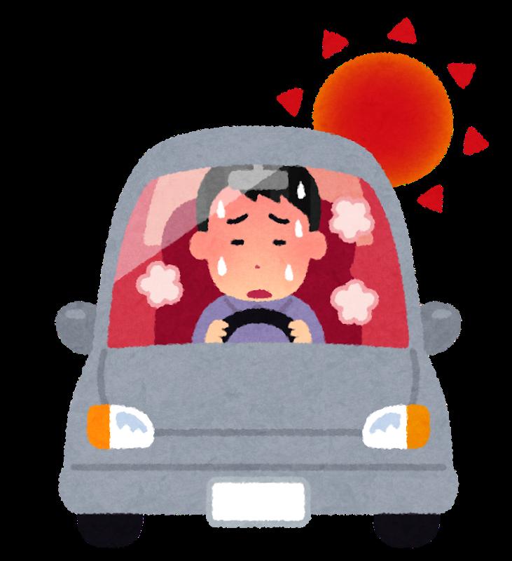 車のエアコンが効かなくなる原因