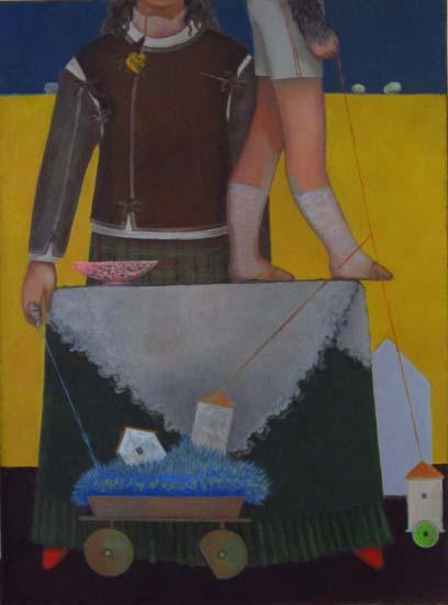 Sans titre - 110 x 80 - Huile sur toile