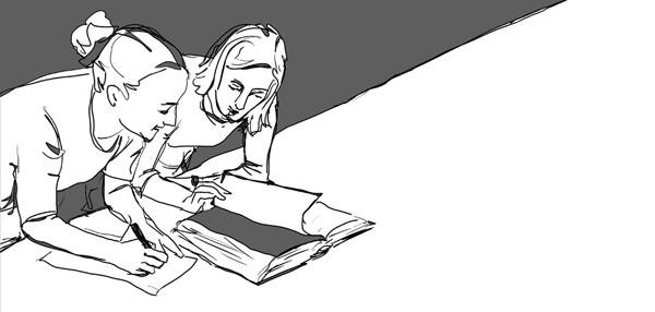 Illustration für das Goethe-Institut, Frankfurt/Main