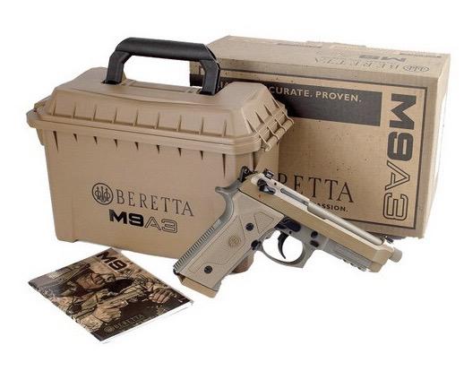 Beretta M9A3 Disponibile in Negozio