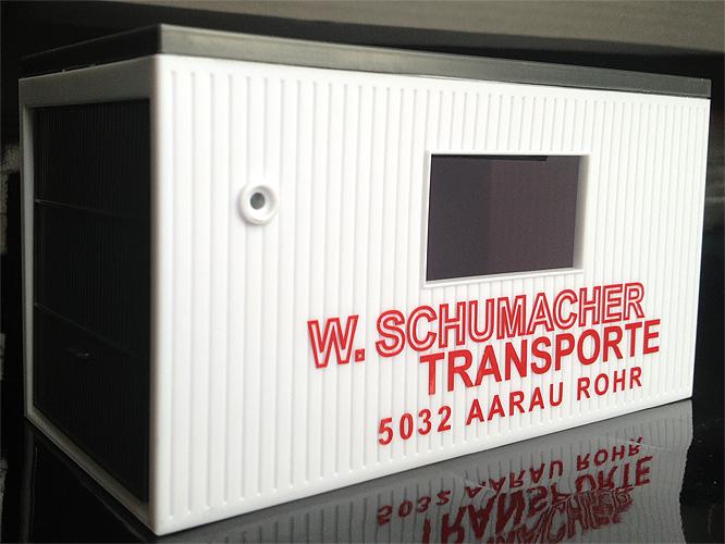 Modell-Garagenbox