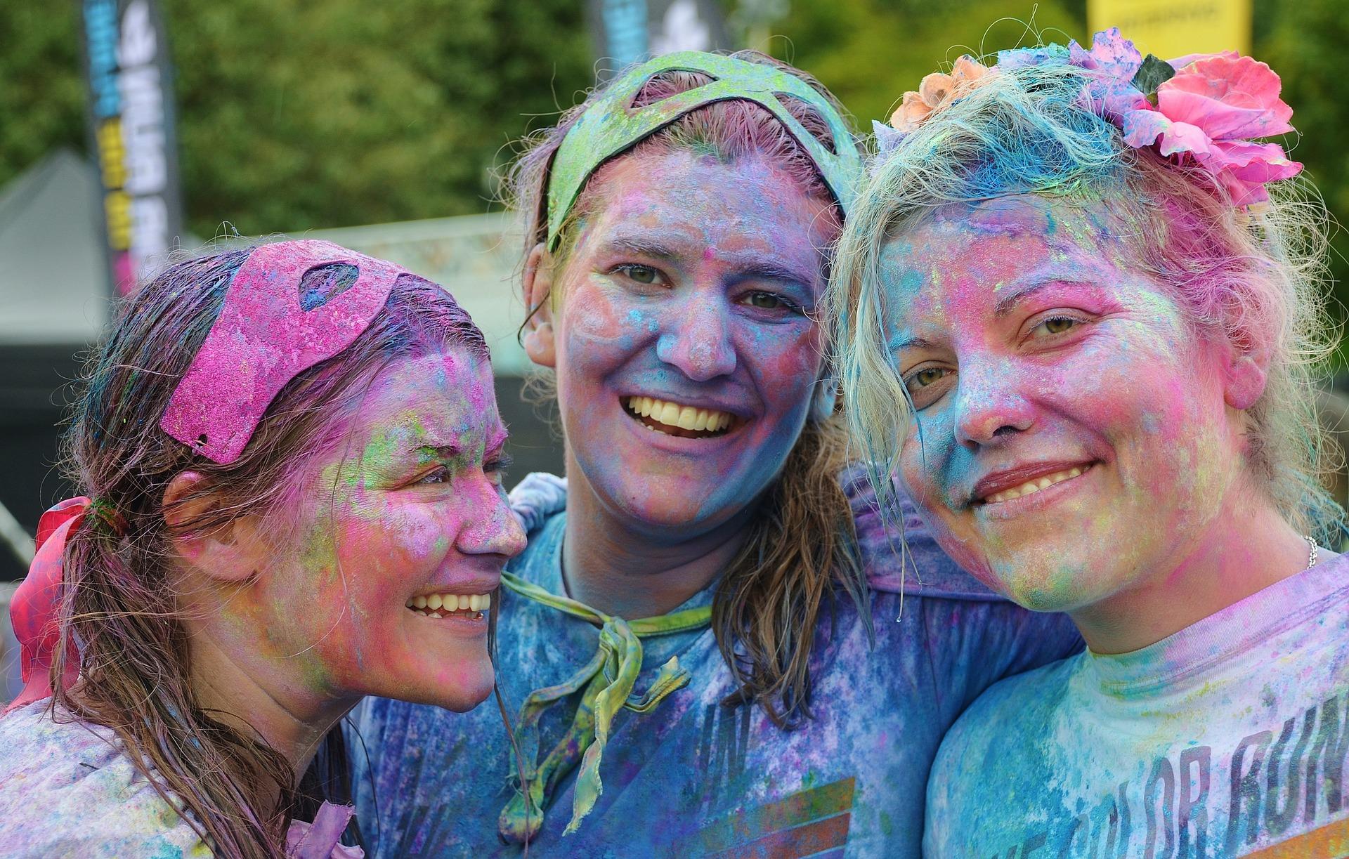 Aprender a ver los colores de la felicidad
