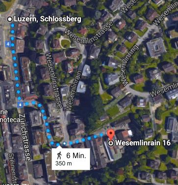 Haltestelle Schlossberg