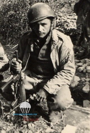 sergent Frank DUBAY, Southern France, August 1944.