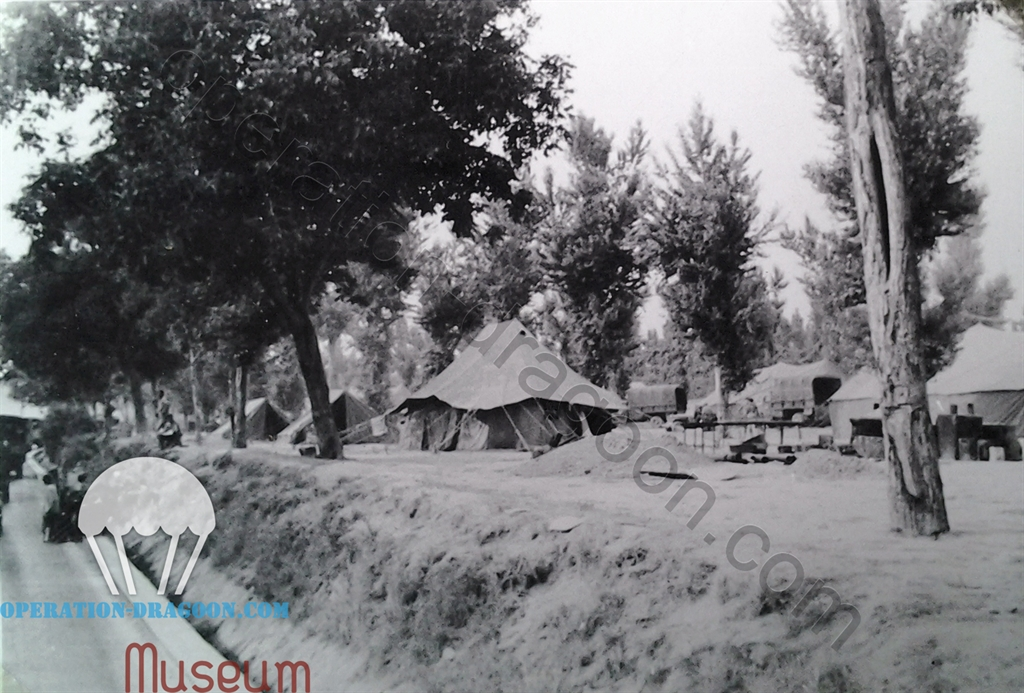 Transit camp near Naples, Italy, Spring 1944