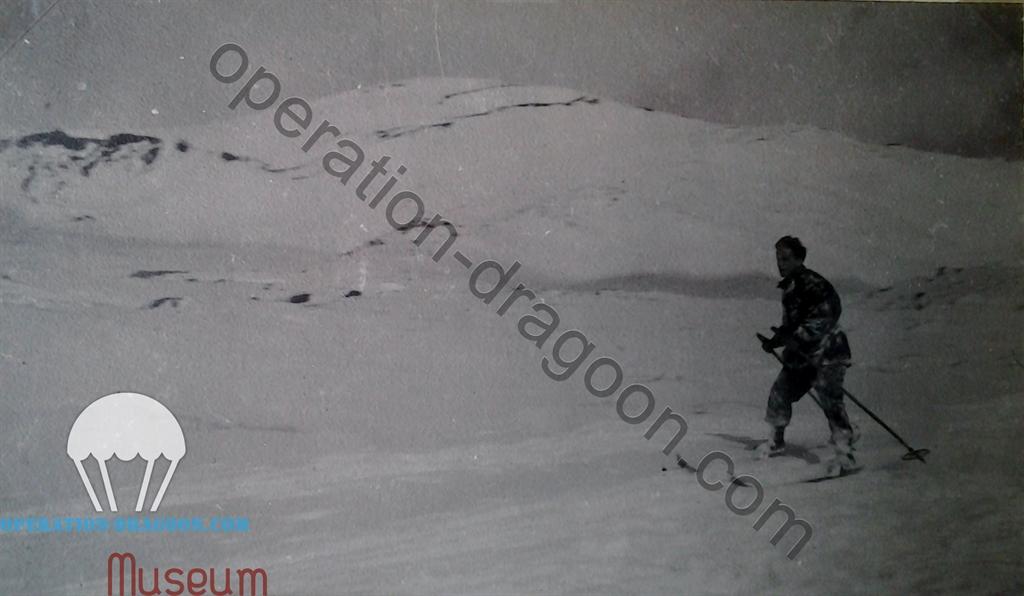 Sicile, Hiver 1944, Peter skie sur le volcan Etna