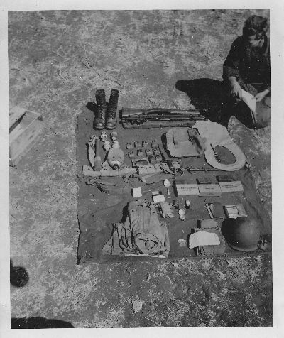 Preparing equipment for camouflage