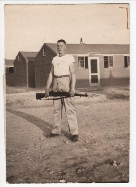 "C. YOUNG, ""C"" Company at Camp Toccoa"