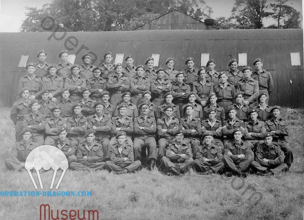 1st Independent Pathfinder Platoon, England 1945