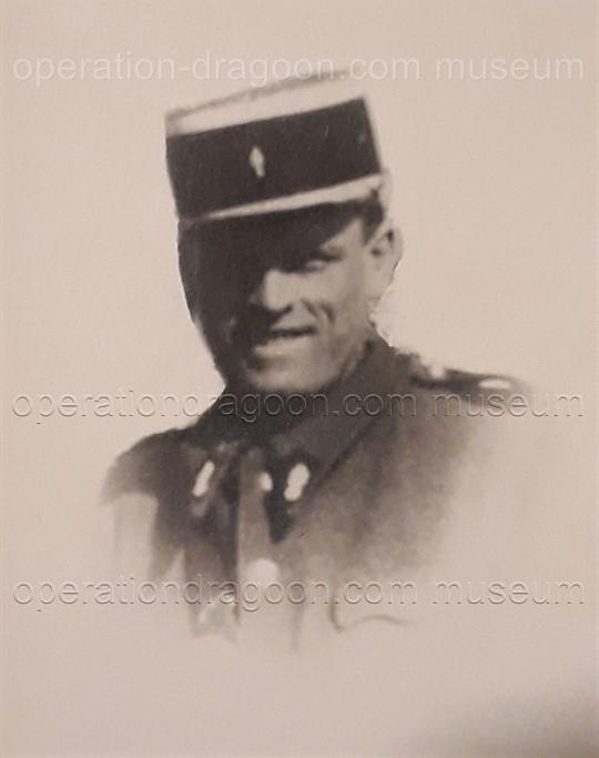 Gendarme René SCHEER.
