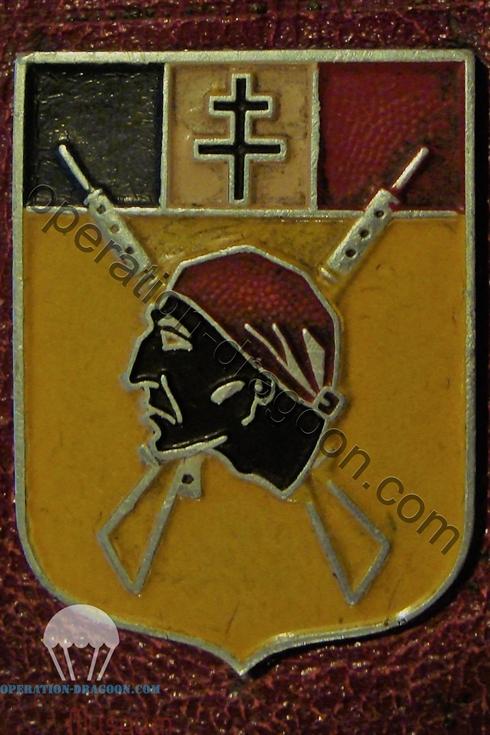 Insigne du régiment des Maures de Henri .