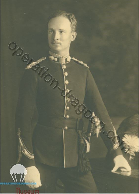 Lt CHV Pritchard, royal welsh fusilliers, circa 1930. Source: Nannau - A Rich Tapestry of Welsh History by Philip Nanney Williams