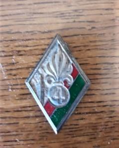Insigne du 4em régiment étranger du Maroc de Martino CIOFI