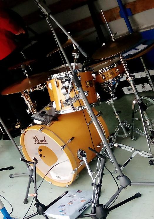 ...oder am Jazz-Set...