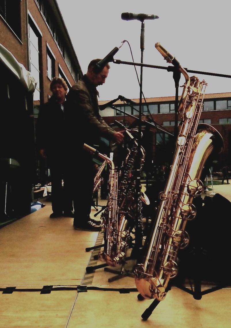 ...unterwegs mit meiner Big Band
