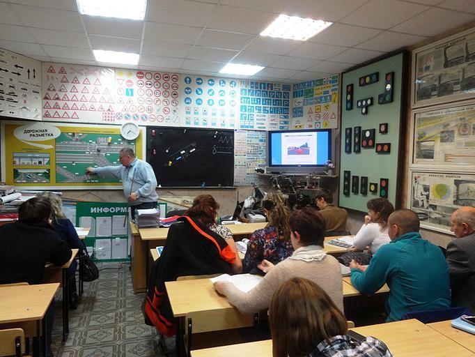 Учебный класс на Сафоново.