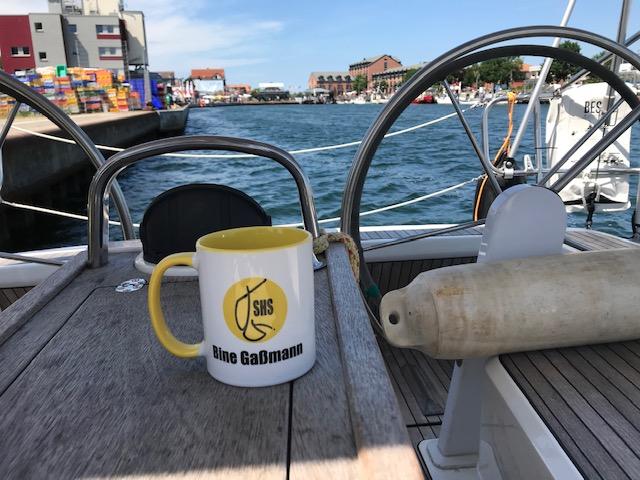 Kaffeepause Kommunalhafen