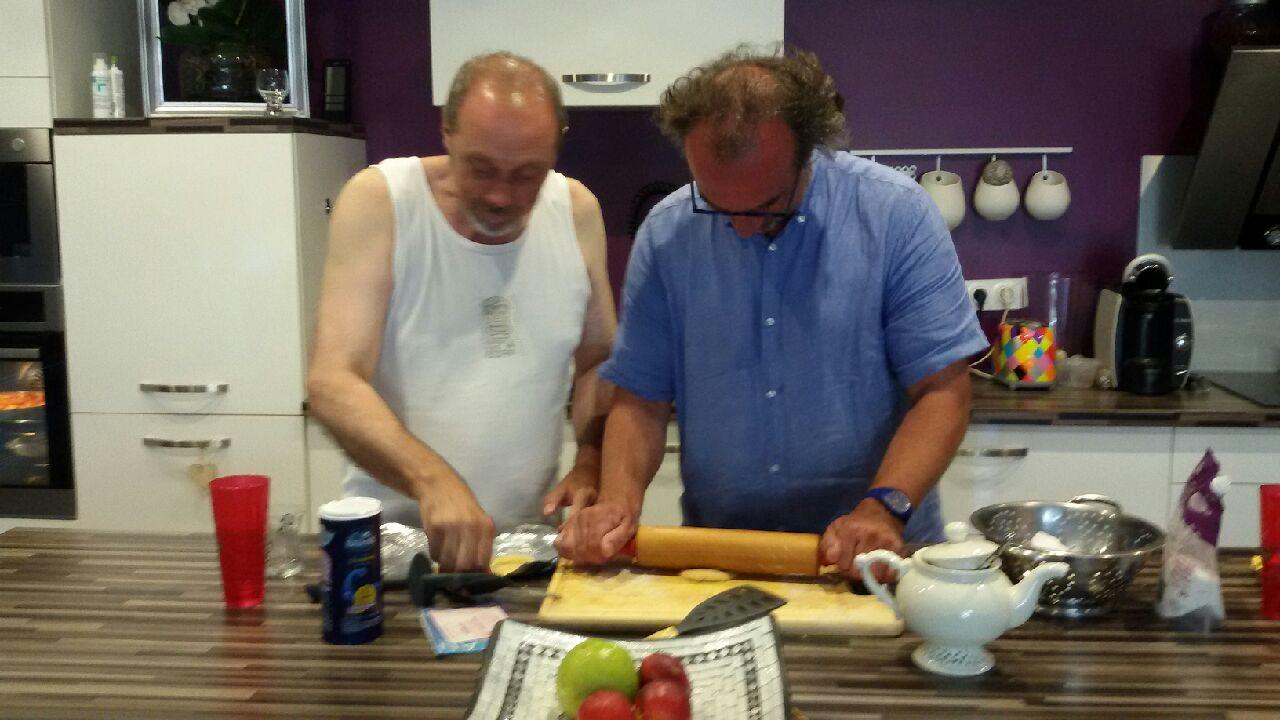 Master chef à Avignon .... les hommes au fourneau