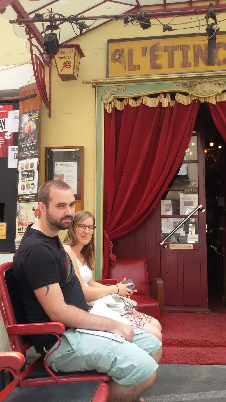 Ghislain et Claire en attente de la régie