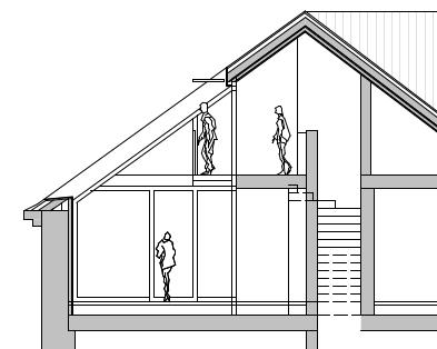 Dachgeschoßsausbau Wien Architektin Monika Lehner