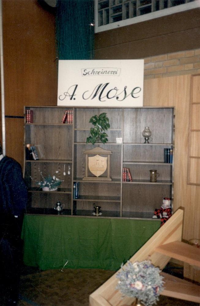 1. Gewerbeausstellung in der Mehrzweckhalle Wabern März 1988