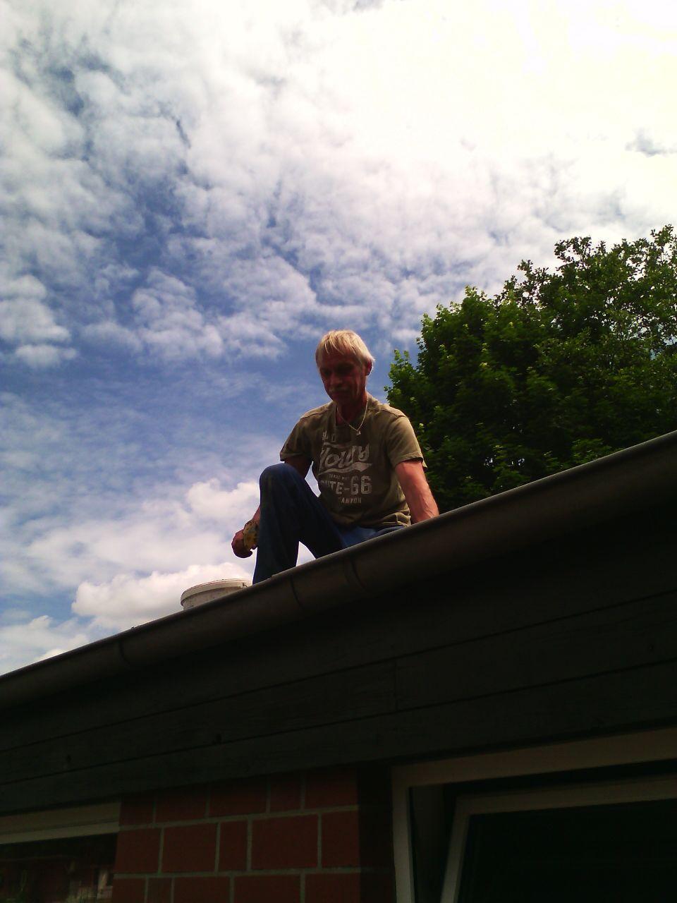 Dacharbeiten...