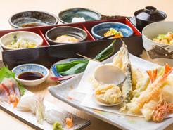 天ぷらコース【松】