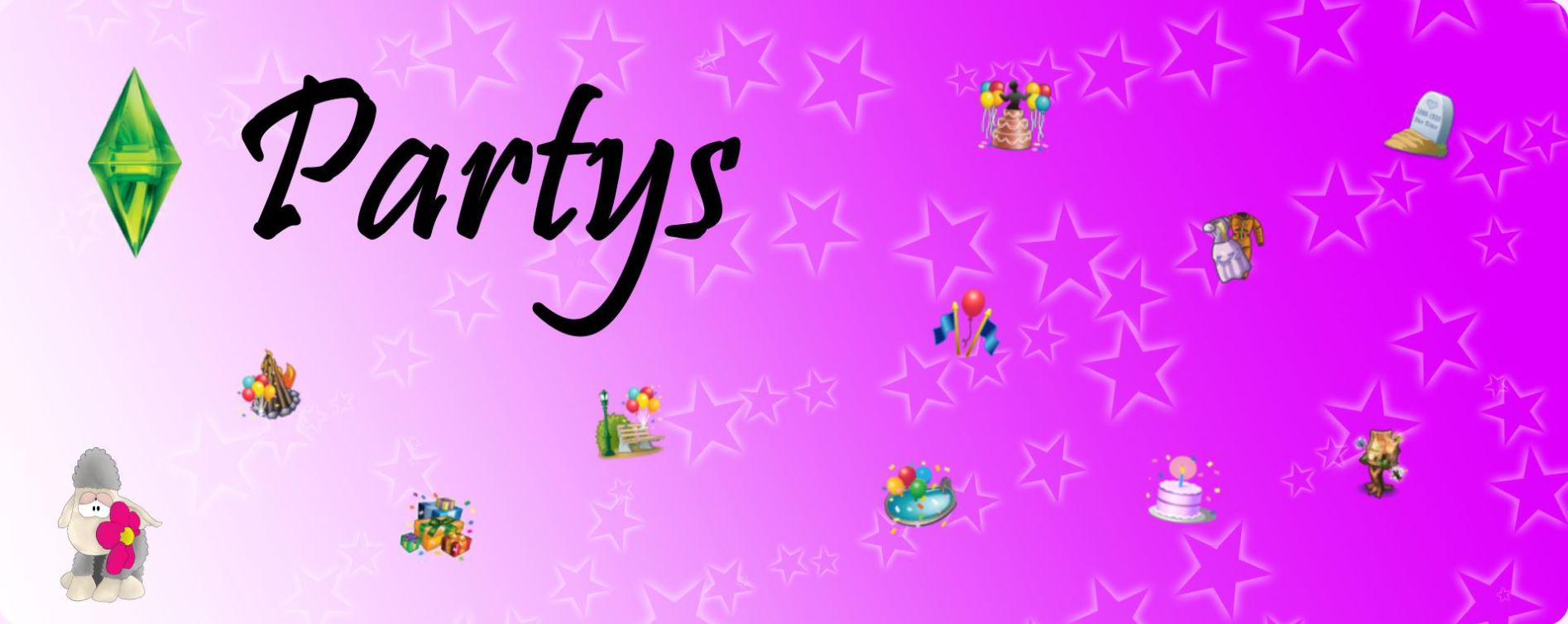 Partys - saphrina-simss Webseite!