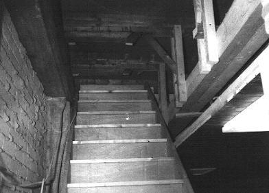 Bau des Aufganges zur Sternwarte
