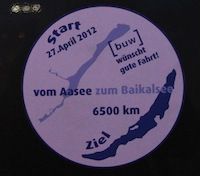 2012 - Puuh - die erste große Tour - ab zum Baikalsee