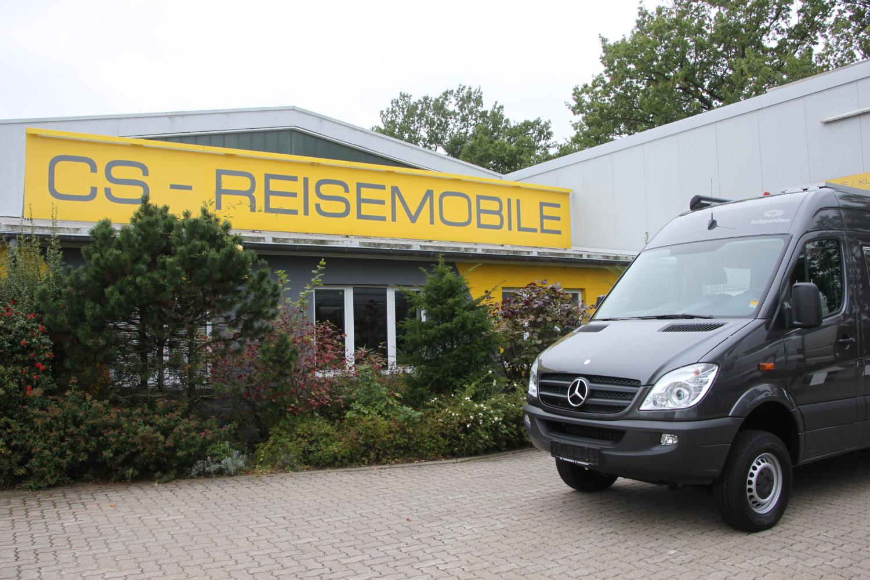 Abholung bei CS Reisemobile in Henstedt-Ulzburg