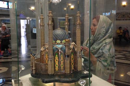 Die Kul-Scharif Moschee als Minimodell.