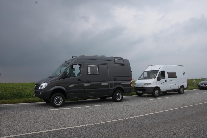 Neu und alt - Baikalsprinter und Jumpy