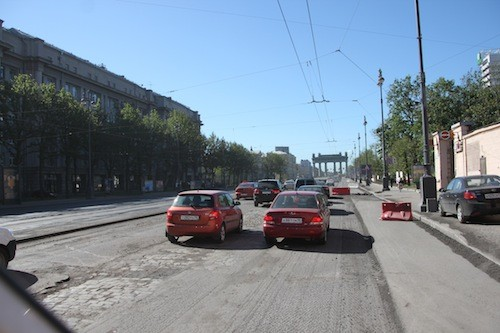 Straßenverhältnisse - nicht immer ganz so einfach