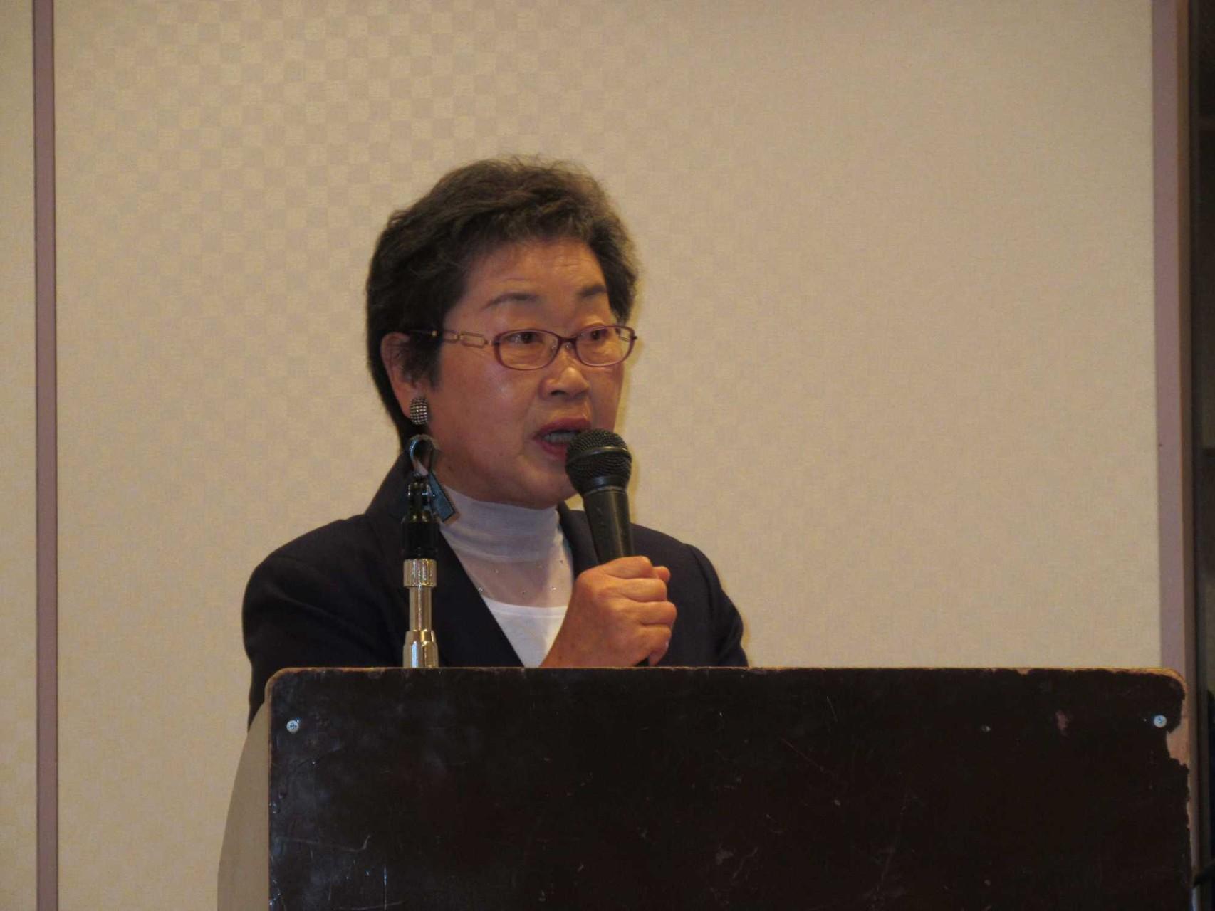 司会を務めていただいた、実行委員の東海林 公子氏