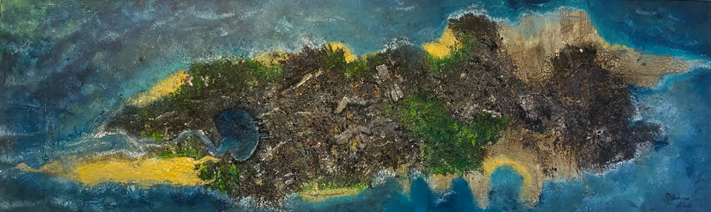 Neverland, Größe 200  x 40 x 4,5 cm € 720,00