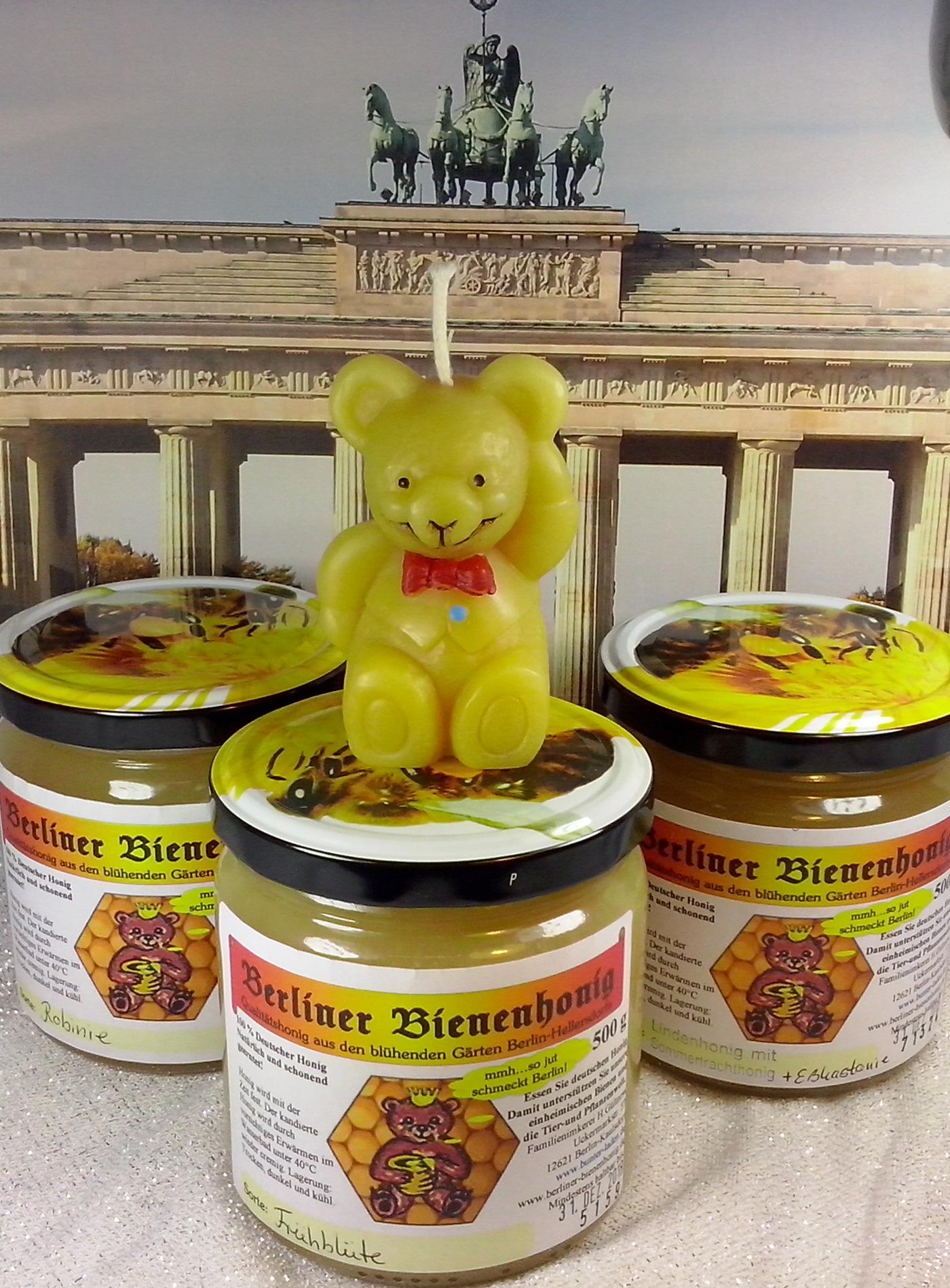 Berliner Bienenhonig Set