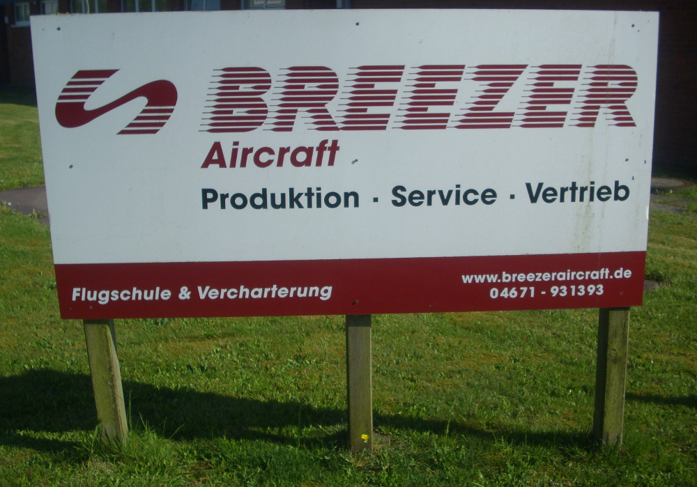 Besichtigung Fa. Breezer-Aircraft 2016