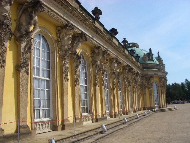 Schloss Sanssouci-Detail