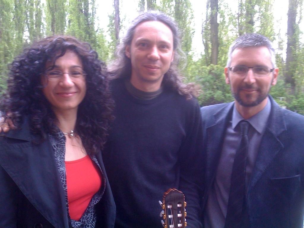 Chrysoula Maravelia, Alkinoos Ioanidis und