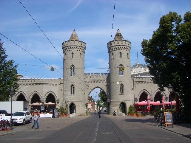Eines der Stadttore von Potsdam