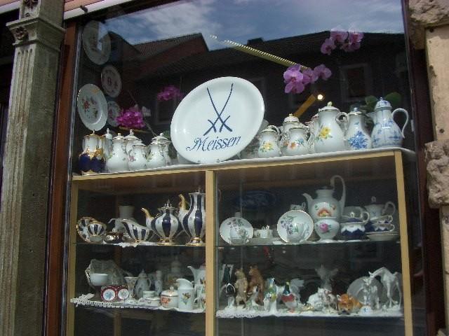 Antiquitätengeschäft an der Porzellanmanufaktur