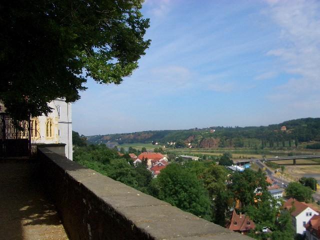Blick von der Albrechtsburg