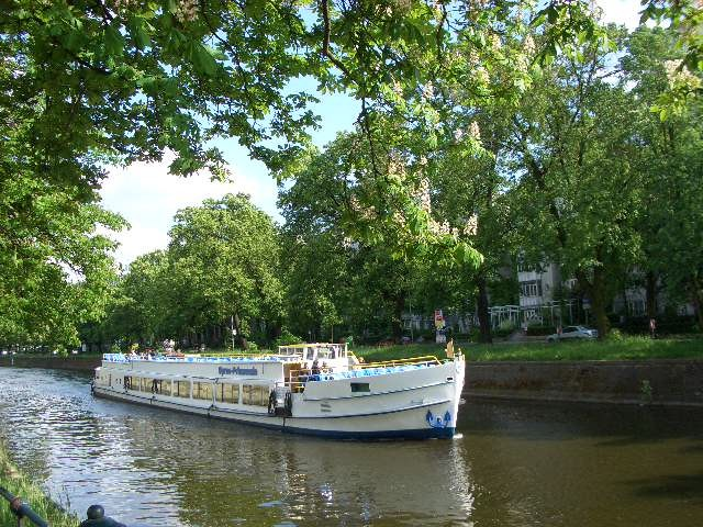 malerische Kanäle-Landwehrkanal in Tiergarten
