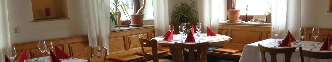 Sonntags zu Tisch im Eventgasthaus Löwen
