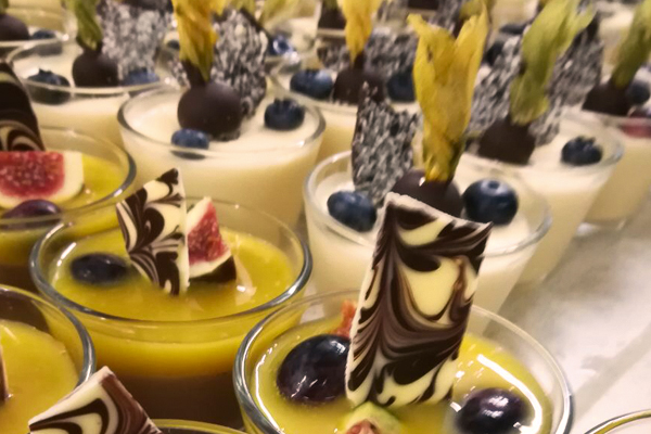 Aussergewöhnliche Dessertkreationen